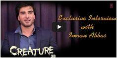#ImranAbbas Interview | #Creature3D | Bollywood Interviews  http://bollywood.chdcaprofessionals.com/2014/09/imran-abbas-interview-creature-3d.html