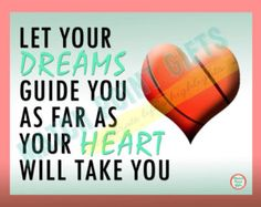 Inspirational basketball print senior night gift sports motivational