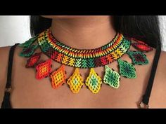 African necklace Zulu necklace Maasai Beaded Necklace with Bead Jewellery, Seed Bead Jewelry, Beaded Jewelry, Beaded Necklace, Jewlery, Necklaces, African Beads Necklace, Indian Necklace, Collar Macrame