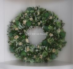 Homemade wreath.....