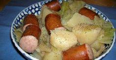 Crock-Pot Cabbage, Potatoes and Sausage