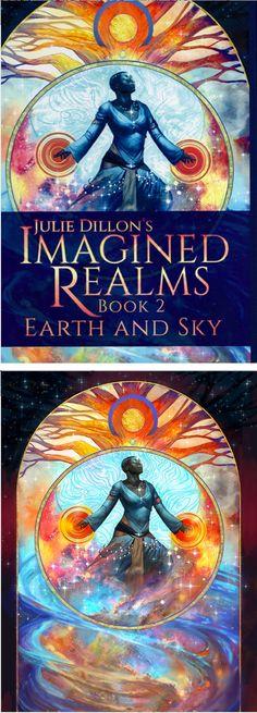 JULIE DILLON - Julie Dillon's Imagined Realms: Book 1 by Julie Dillon - 2014 Julie Dillon - cover by isfdb - print by juliedillon.deviantart.com