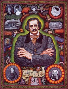 Joe Coleman - Poe