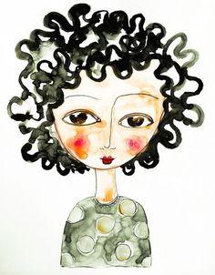 rachelle+panagarry+art+pinterest | Illustration - Rachelle Panagarry
