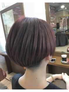 Asian Short Hair, Shanti, Mi Long, Short Hair Styles, Hairstyles, Fashion Styles, Hairdos, Asia, Bob Styles