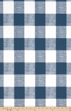Navy Check Valance. Navy and white  Check.  Window treatment. Checkered Country curtains.  Choose  your sizes by TwistedBobbinDesigns on Etsy