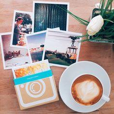 Cappuccino + Origrami Prints. ehrenfeld.cafe Köln.