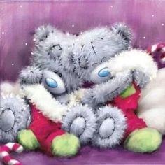 Christmas Tatty Teddy by constance