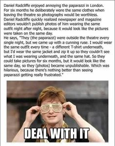 Daniell Radcliffe is awesome. The end