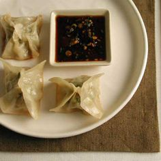 Chicken and Lemon Pot Stickers with Soy-Scallion Dipping Sauce < 20 Top-Rated Chicken Recipes - Cooking Light