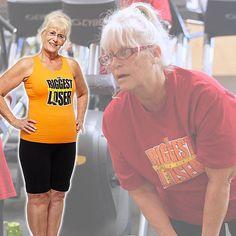 Nancy lost 56 lbs. on Season 13 of #BiggestLoser