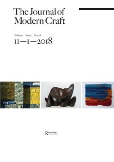 Chance and Tradition in the Architectural Ceramics of Assemble. The Journal of Modern Craft: Vol. Isamu Noguchi, Modern Crafts, Art Education, Journal, Sculpture, Ceramics, Traditional, Architecture, Raising