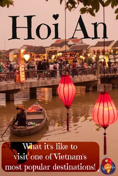 There aren't many places in the world where mass tourism and beauty blend, in the way they do in Hoi An! #VIETNAM