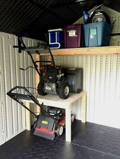 More Than 35 Creative Garage Organization And Storage Hacks Tips ! Creative Garage Organization And Storage Hacks Tips 10 ! Storage Shed Organization, Garden Tool Storage, Storage Hacks, Diy Storage, Storage Ideas, Garage Organisation, Diy Garage Storage Plans, Garage Storage Shelves, Diy Shelving