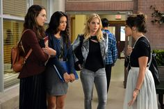 """#PLL 5x21 """"Bloody Hell"""" - Spencer, Emily, Hanna and Aria"""