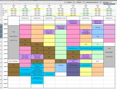 How to create a schedule for your Disney trip