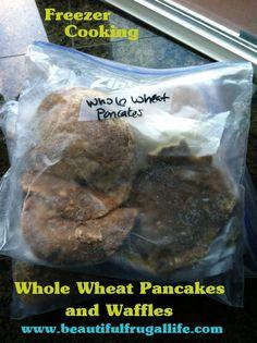 Freezer Cooking: Whole Wheat Waffles & Pancakes tips
