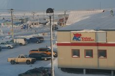 "AC Value Center in Barrow, Alaska. Known as ""Stuaqpak"" (""big store"" in Inupiaq)"