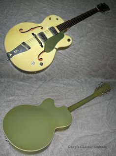 1959 Gretsch Double Anniversary Two Tone Green