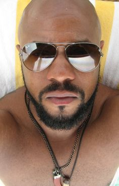 CBS TV Network Primetime, Daytime, Late Night and Classic Television Shows Black Men Beards, Handsome Black Men, Gorgeous Black Men, Most Beautiful Man, Gorgeous Guys, Bald Black Man, Rockmond Dunbar, Dark Man, Hunks Men