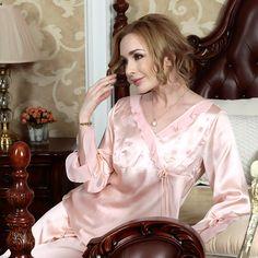 American Standard silk pyjamas