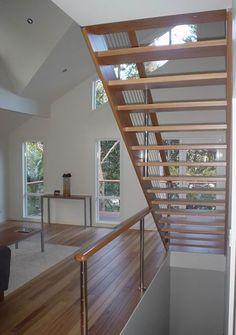 Tullipan Homes | Open Riser Hardwood Stairs