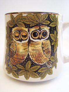 Owl coffee mug.