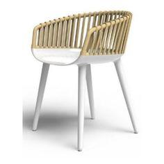 Cyborg wicker è la versione di Cyborg con lo schienale in midollino.  #sedie #chair #arredamento #design #magis
