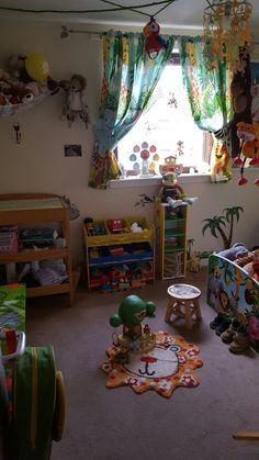 Jungle room! Jungle Room, Small World Play, Imaginative Play, Room Themes, Bedroom, Room, Bed Room, Bedrooms, Dorm