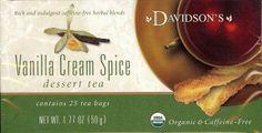 Vanilla Cream Spice - Davidson's