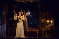 SIERRA BOGGESS as Christine and NORM LEWIS as Phantom