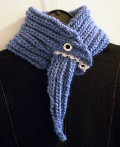 monster scarf