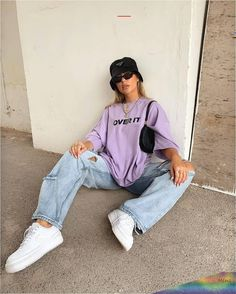 Indie Outfits, Teen Fashion Outfits, Retro Outfits, Cute Casual Outfits, Summer Outfits, 90s Style Outfits, Urban Outfits, Casual Ootd, Fashion Ideas