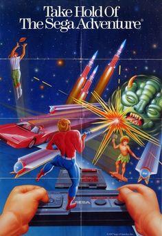 [ retro scan ] my sega master system adventure Vintage Video Games, Classic Video Games, Retro Video Games, Video Game Art, Retro Games, Nintendo, Playstation, Videogames, Pc Engine