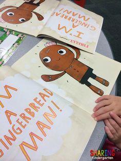 Gingerbread Man on the Loose in School - Sharing Kindergarten