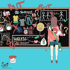 Self Doubt - Daniela Palomino - Pet Fashion Dark Art Illustrations, Illustration Art, Sad Anime, Anime Art, Sun Projects, Vent Art, Arte Obscura, Sad Pictures, Sad Art