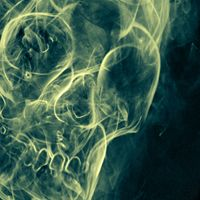 I know this looks creepy, but this was a photoshop tutorial I used on how to create an image out of smoke.