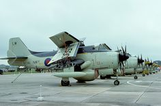 XL500\LM Gannet AEW.3  849 Naval Air Squadron, RNAS Lossiemouth | par Stuart Freer - Touchdown Aviation New Aircraft, Aircraft Photos, Military Jets, Military Aircraft, Royal Navy Aircraft Carriers, Uk Navy, Aircraft Propeller, British Armed Forces, Military Equipment