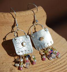 Sterling Silver SALE Dangles. Dangle Earrings Silver. by HKart1