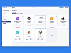 Members UI Design