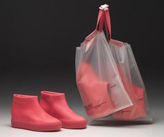 'Pure Shoe Capsule Collection' by Jean Nouvel for Ruco Line