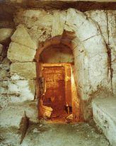 Cripta romana en el subsuelo del palacio de La Merced que apareció en las obras de ampliación del Convento llevadas a cabo en los año 60 del siglo XX