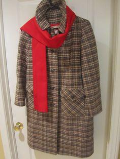 Pendleton coat Pendleton Coat, Its Cold Outside, Plaid, Blazer, Trending Outfits, Baby, Jackets, Vintage, Beautiful
