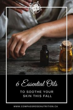Cold and wind can take its toll on your skin during winter. Here are six essential oils to help your skin this fall. - 6 Essential Oils To Soothe Your Skin This Fall. Geranium Essential Oil, Doterra Essential Oils, Essential Oil Blends, Holistic Nutrition, Nutrition Tips, Subway Nutrition, Holistic Care, Getting More Energy, Massage Oil