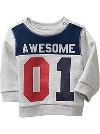 Graphic Sweatshirts for Baby