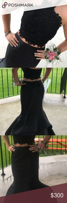 Sherri Hill Prom Dress worn once, in perfect condition! originally $600. Sherri Hill Dresses Prom