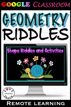 Learning about 2D and 3D SHAPES has never been so fun! Use these shape riddles to engage your students to name and create shapes in GOOGLE CLASSROOM!  Use these slides for extension activities, gifted students, or math centers. Gifted Students, Riddles To Solve, 2d And 3d Shapes, Learning Shapes, Interactive Whiteboard, Student Gifts, Google Classroom, Math Centers, Activities