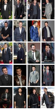 Hey. Look at all of the suits! *grins* Who can resist a well dressed man? Well, as mentioned before, he looks good in anything. *sighs*