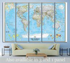 World Map №1496