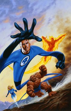 browsethestacks:  The Fantastic Four by Joe Jusko